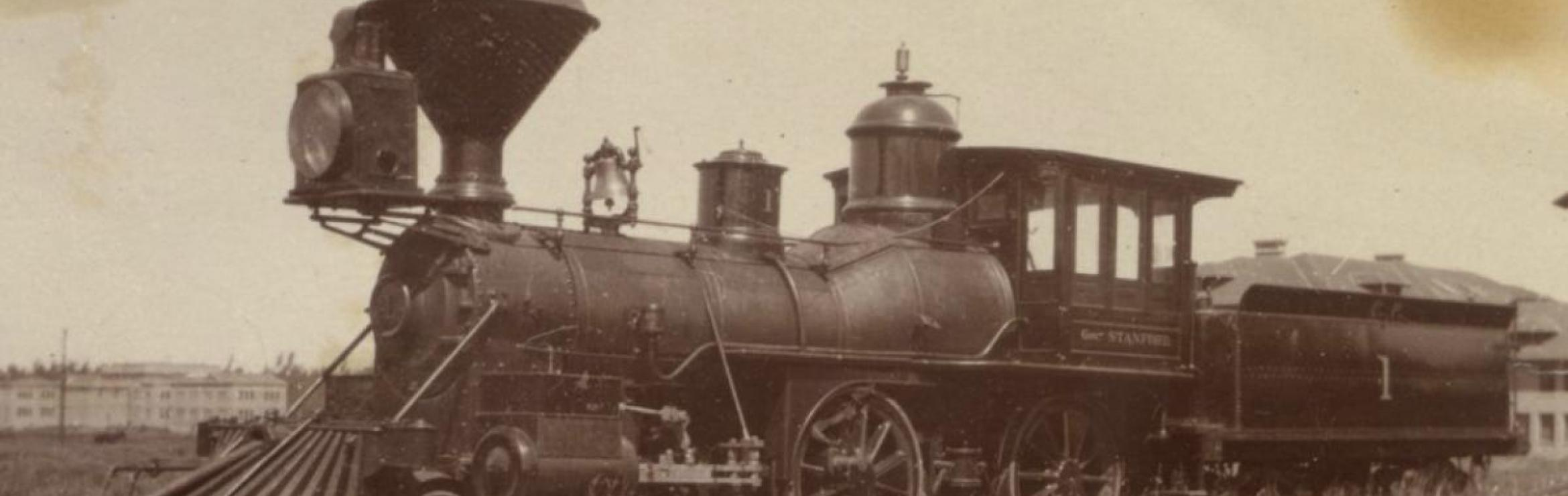 Gov. Leland Stanford Locomotive