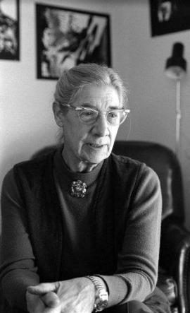 Photo of the poet Janet Lewis