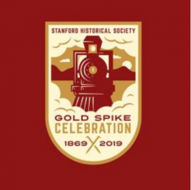150th Gold Spike logo