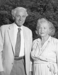 Theodore and Frances Geballe Photo
